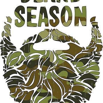 Bearded Shirt Lumberjack Shirt Beard Season Tshirt Funny Beard Shirt by lastearth