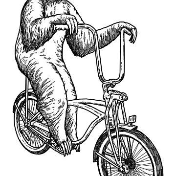 Bicicleta de paseo de la pereza de designbydinny