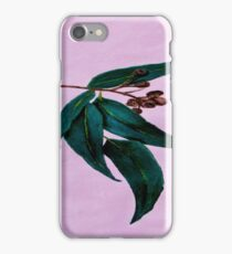 Gum Leaf on Pink iPhone Case/Skin