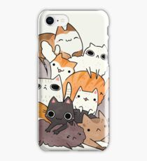pile-o-cat version 2.0 iPhone Case/Skin
