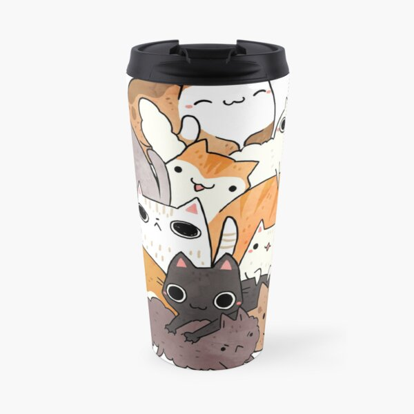 pile-o-cat version 2.0 Travel Mug