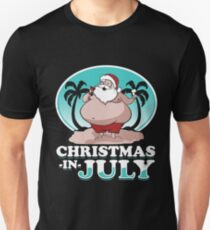 Christmas in July Unisex T-Shirt