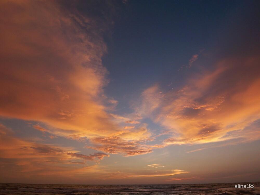 Sky after sunset by alina98