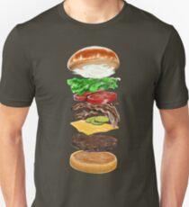 Bacon Cheeseburger Deluxe Unisex T-Shirt