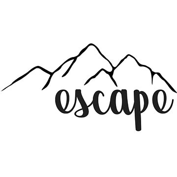 Escape Mountains by annmariestowe