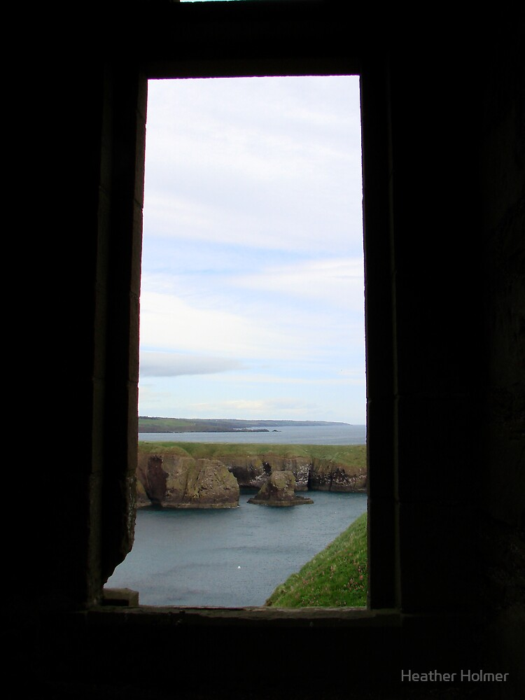 another window at Dunnottar by Heather Holmer