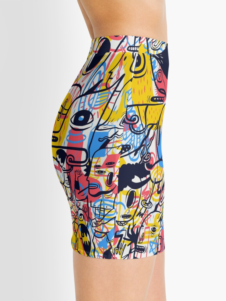 Alternate view of kena rasuk Mini Skirt