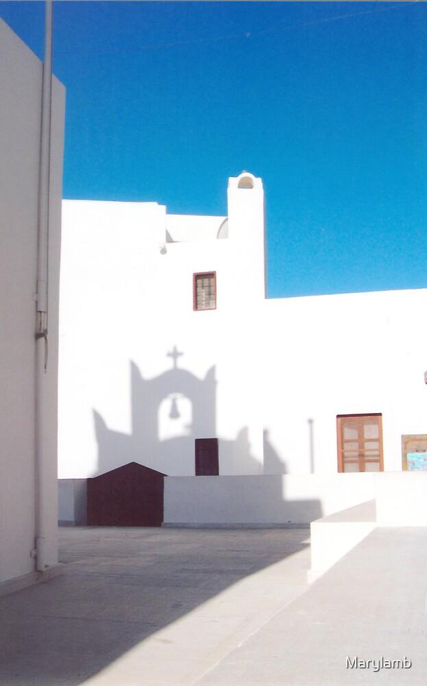 Santorini Shadows by Marylamb