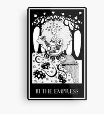 The Empress (card form) Metal Print