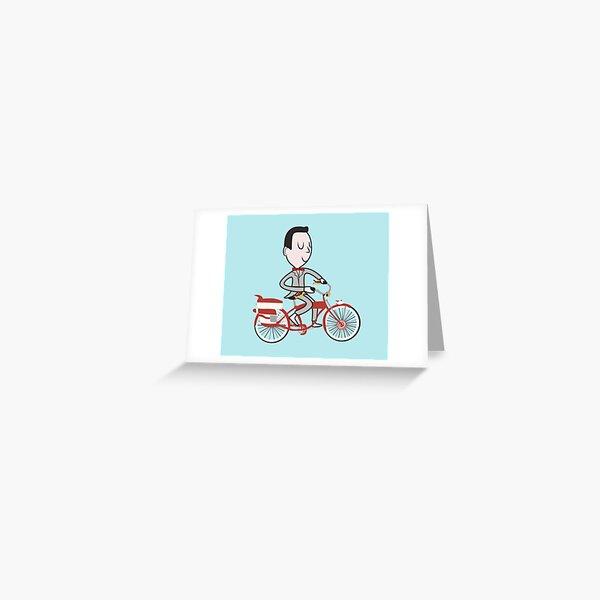 My Bike - Pee Wees Big Adventure Greeting Card