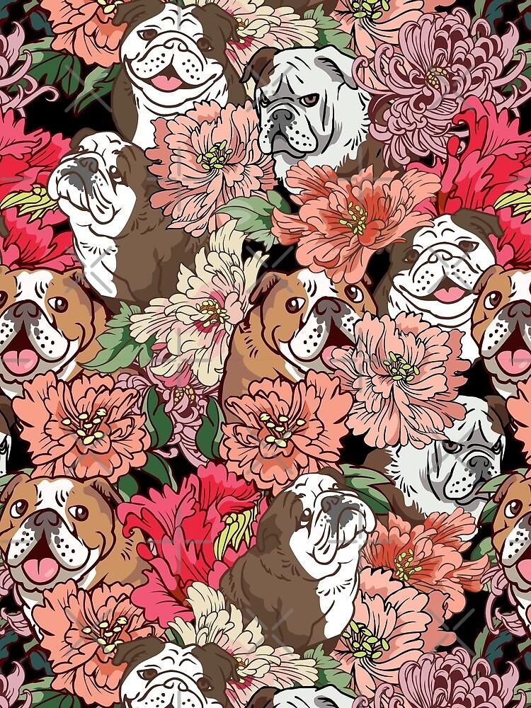 Because English Bulldog by Huebucket