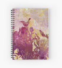 White-Cheeked Honeyeater  Spiral Notebook