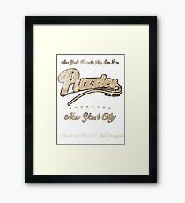 Puzzle's Bar - How I Met Your Mother Framed Print
