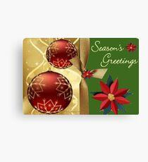 Season Greetings (14502  VIEWS) Canvas Print