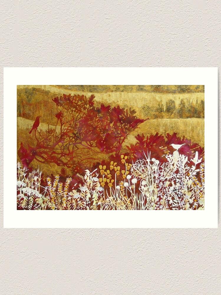 Alternate view of Byron Bay Dwarf Heath 1 Art Print