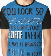 Tenerife Sea Lyric Art Graphic T-Shirt
