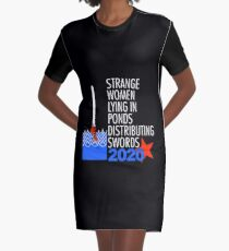 Supreme Executive Power 2020 Graphic T-Shirt Dress