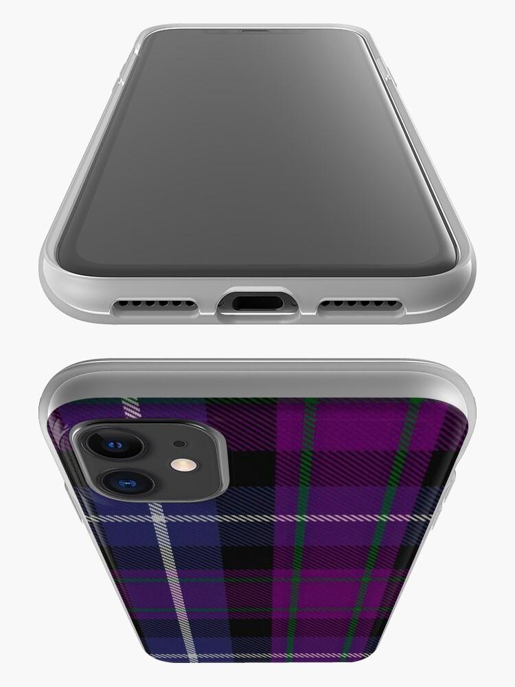Alternate view of Heart of Scotland (Milne) Tartan  iPhone Case & Cover