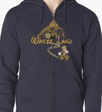The Happiest Place Left On Earth Zipped Hoodie