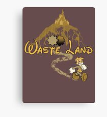 The Happiest Place Left On Earth Canvas Print