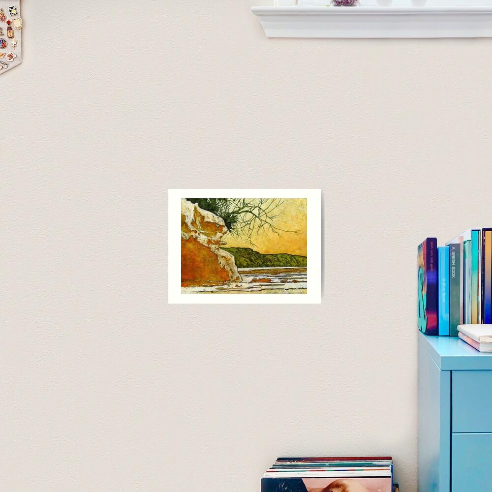 Angourie She - Oak Art Print