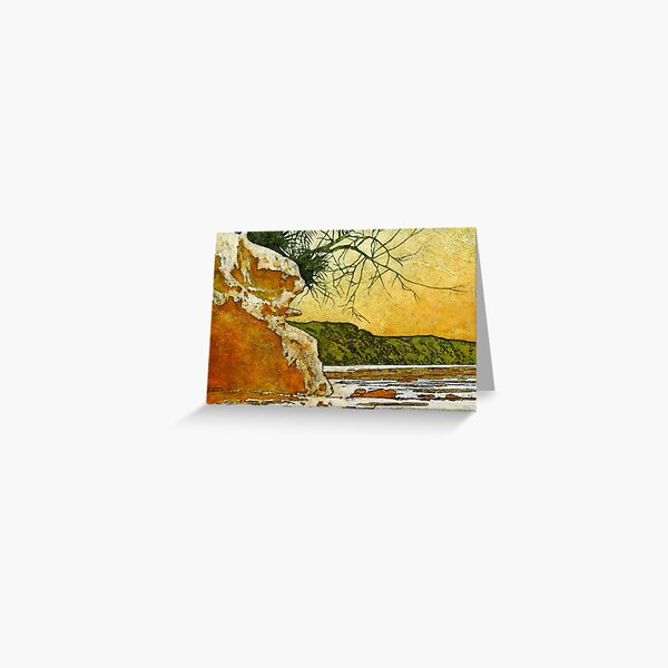 Angourie She - Oak Greeting Card