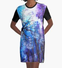 Ray of Hope Graphic T-Shirt Dress