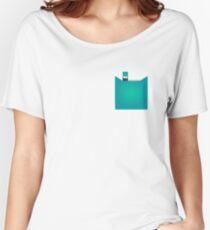 Juul Pod Pocket Tee - Mint Women's Relaxed Fit T-Shirt