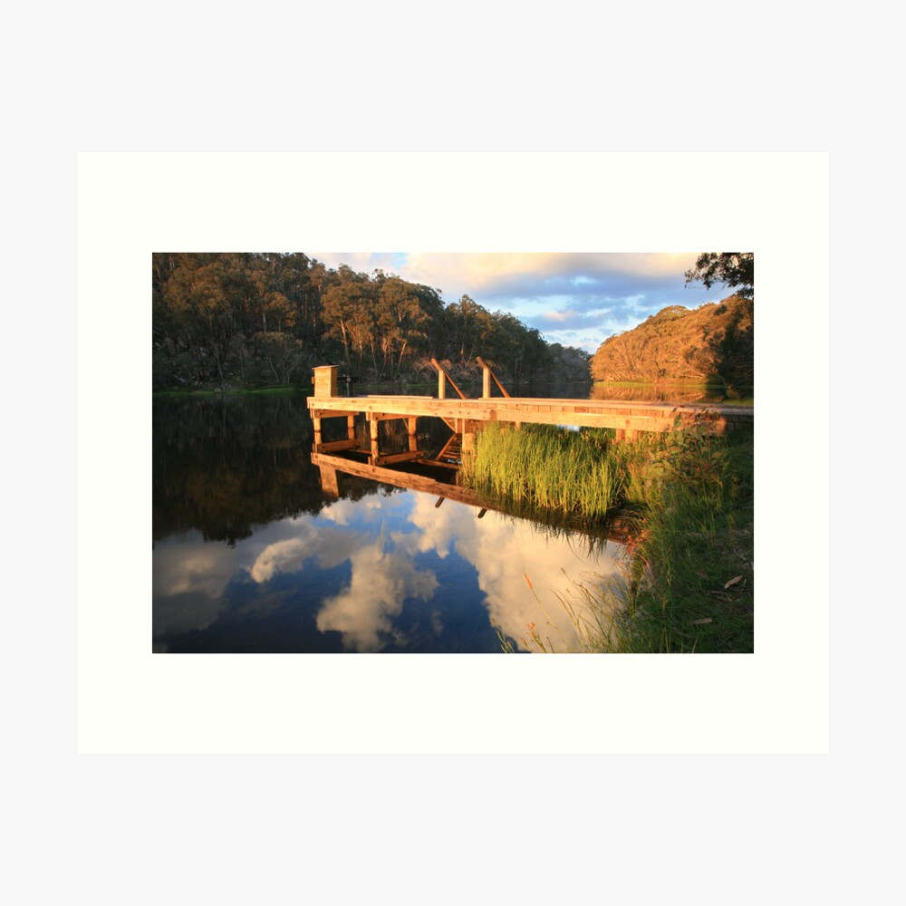 Lake Catani, Mt Buffalo, Victoria, Australia Art Print