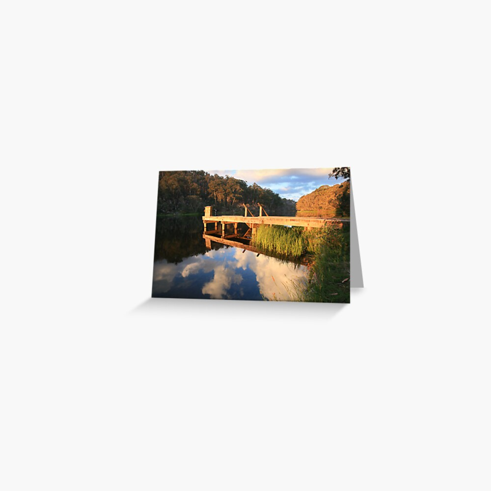 Lake Catani, Mt Buffalo, Victoria, Australia Greeting Card