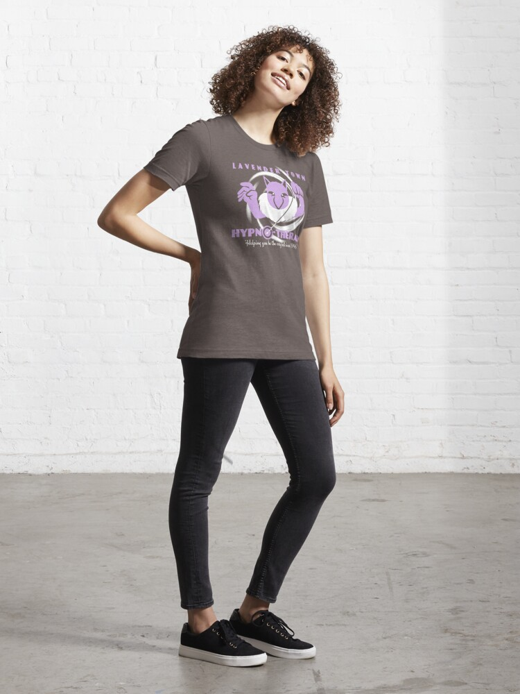 Alternate view of Lavender Town Hypno-Therapy 2.0 Essential T-Shirt