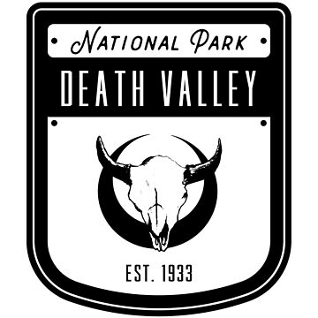 Death Valley National Park California Badge by nationalparks