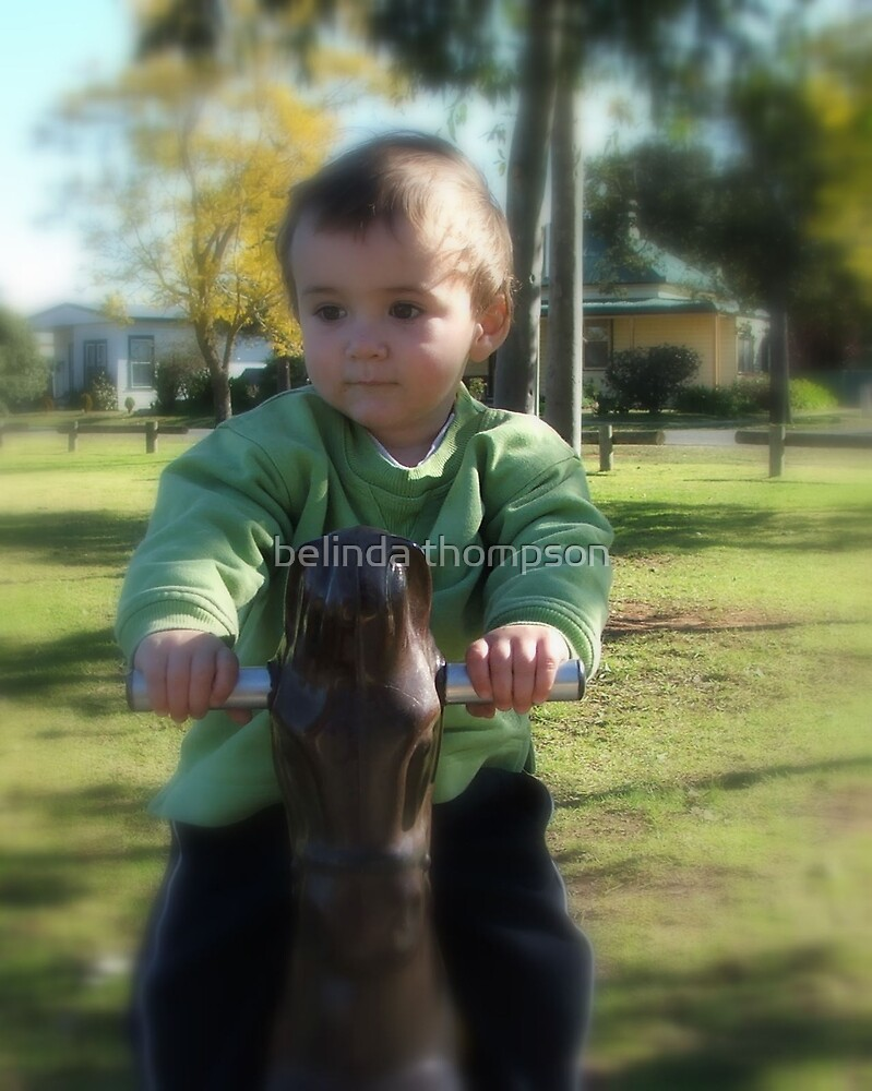 connor at the park by belinda thompson