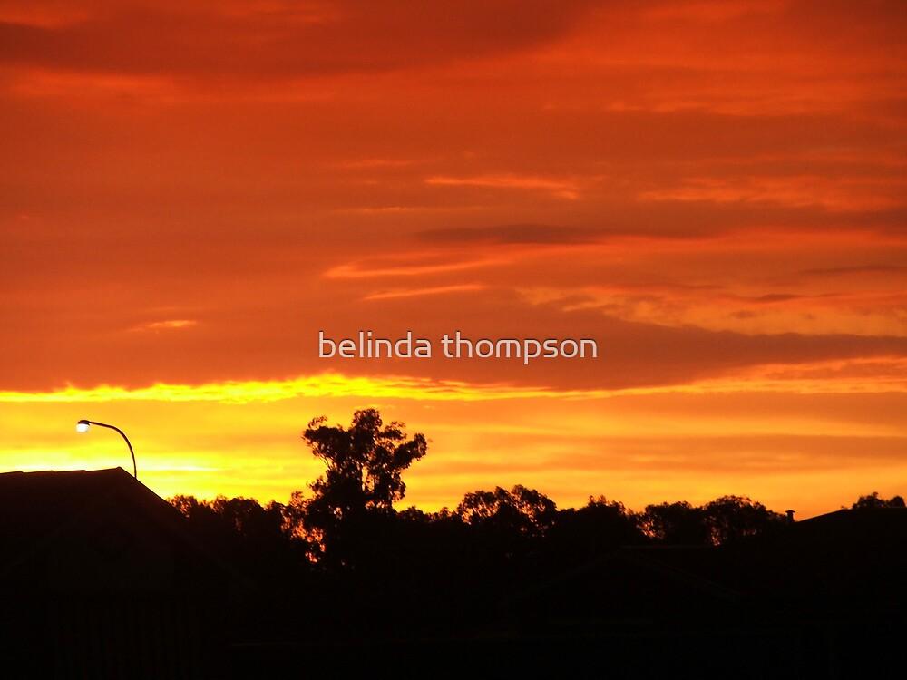 sunset by belinda thompson