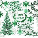Christmas doodle (181 Views) by aldona