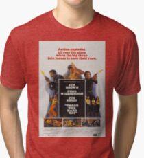 Three The Hard Way Movie Poster Tri-blend T-Shirt