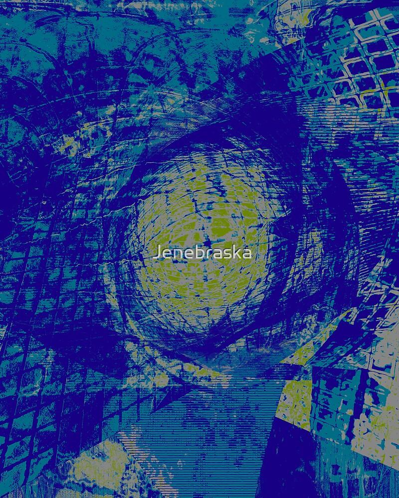 Dark colors of Blue by Jenebraska