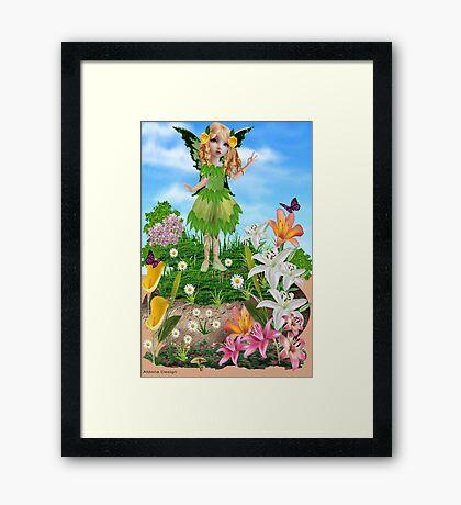 Cute Fairy    (521 Views) Framed Print