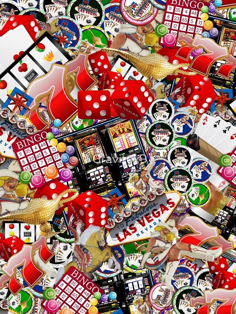Gamblers Delight - Las Vegas Icons by Gravityx9