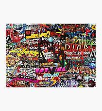 Videogame Sticker Bomb 01!!!! Photographic Print