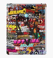 Videogame Sticker Bomb 01!!!! iPad Case/Skin