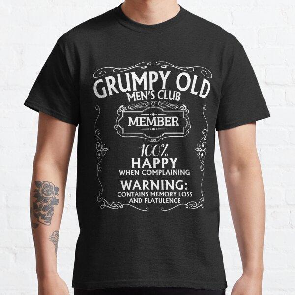 Grumpy Old Men's Club Classic T-Shirt