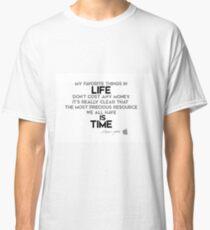 life is time - steve jobs Classic T-Shirt