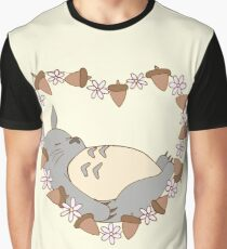 Sleeping Totoro Graphic T-Shirt