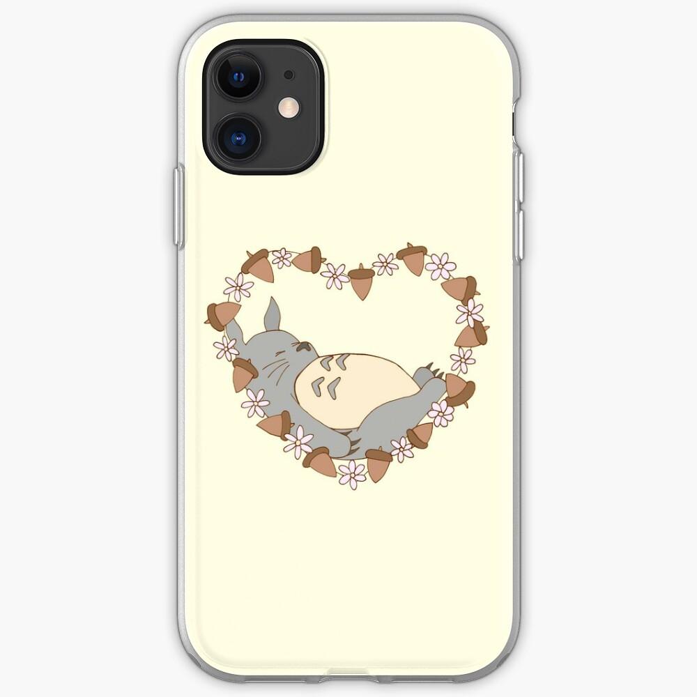 Sleeping Totoro iPhone Case & Cover
