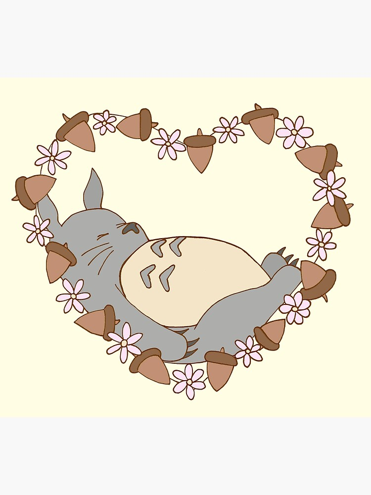 Sleeping Totoro by harrisrose