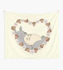 Tela decorativa Dormir Totoro