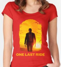 Last Ride  Women's Fitted Scoop T-Shirt