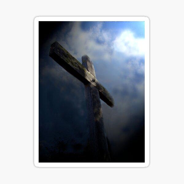 The empty cross Sticker