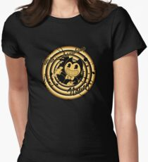 Bendy And The Ink Machince Womens Fitted T-Shirt